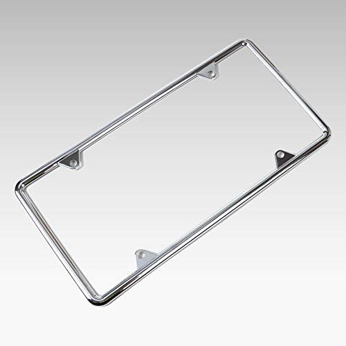 1Pc Zinc Alloy License Plate Frame Universal For Audi Bmw Vw Golf Toyota Corolla Nissan Qashqai Almost All Cars Trucks