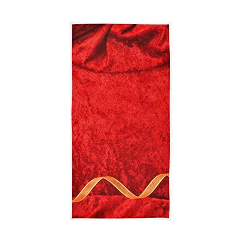 XiangHeFu hoogabsorberende multifunctionele trouwkaart rode achtergrond badkamer ultrazachte handwashanddoek badhanddoek