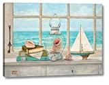Sea Breeze Vista by Arnie Fisk - 28' x 38' Canvas Art Print Gallery Wrapped - Ready to Hang