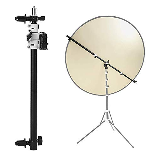 Selens Telescopic Reflector Holder Extendable Boom Arm 360 Degree Swivel with Adjustable Length for Photo Studio Product and Portrait Photography