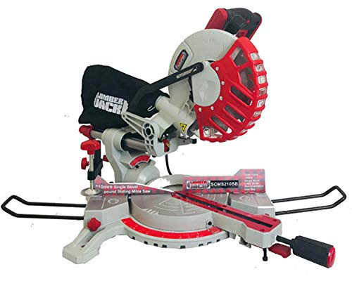 "Lumberjack SCMS210SB 8"" 210mm Single Bevel Sliding Compound Mitre Saw 230V"