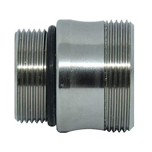 Adaptador de grifo IKEA. Adaptador de aireador de grifo M18.5 a M22. Se adapta también a grifos IKEA. También compatible con filtro BRITA.