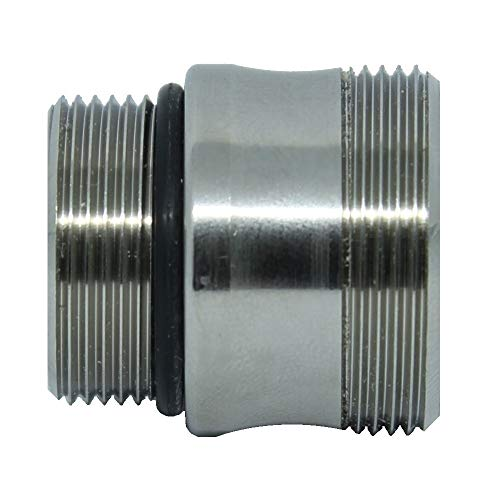 Wasserhahn-Adapter IKEA. Wasserhahn-Adapter M18,5 auf M22. Passt auch IKEA-Wasserhähne