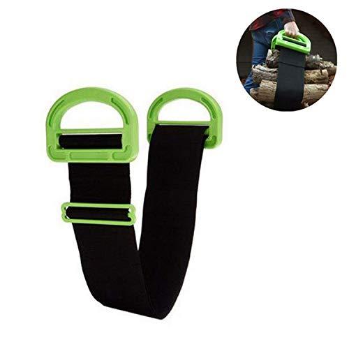 Qiajie Portable Lifting und Moving Strap Tragegurte mit langlebigen Griffen für Möbel, Boxen, Matratzen, Bau