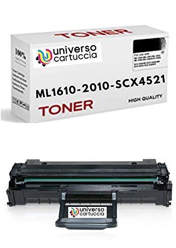 UniveroCartuccia® REBUILT. Toner Compatibile Samsung ML 1610, 2010, 2010P, 2010R, 2510, 2570, 2571N Samsung SCX 4321, 4521F, Xerox PHASER 3117, Dell P 1100, 1110, DA 3.000 copie