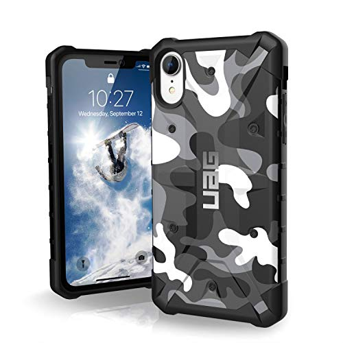 URBAN ARMOR GEAR UAG iPhone XR [6.1' Screen] Pathfinder Camo Feather-Light Rugged [Arctic] Military Drop Tested iPhone Case