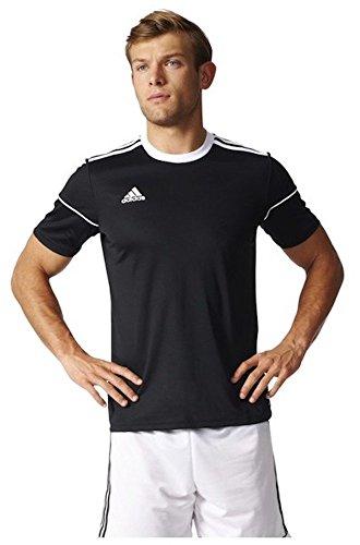 adidas Squadra 17, Maglietta da Calcio Uomo, Nero (Black/White), Medium