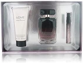 Love By Sofia Vergara 4 Piece Gift Set - 3.4 Oz & 0.33 Oz Eau De Parfum Spray, 3.4 Oz Creamy Shower Gel, 3.5 Oz Shimmer