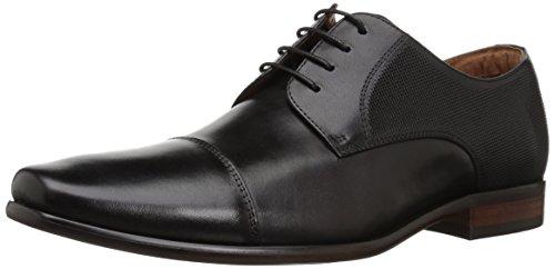Florsheim Men's Potenza Cap Toe Lace Up Oxford Dress Shoe, Black, 12 Wide