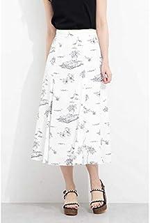 PROPORTION BODY DRESSING(プロポーションボディドレッシング)◆リゾートプリントフレアスカート