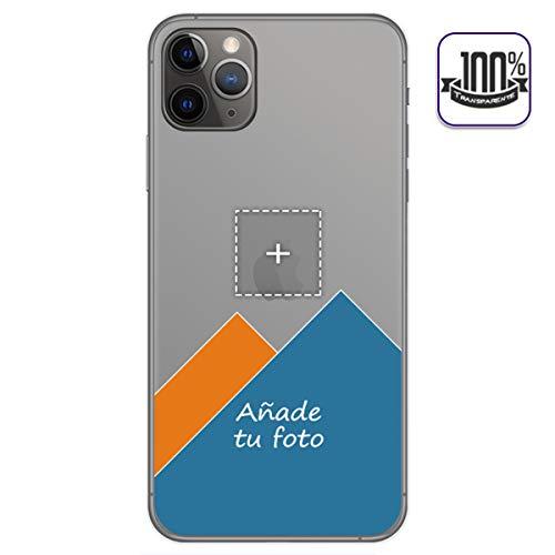 Personaliza tu Funda Gel 100% Transparente con tu Fotografia para iPhone 11 Pro (5.8) Dibujo Personalizada