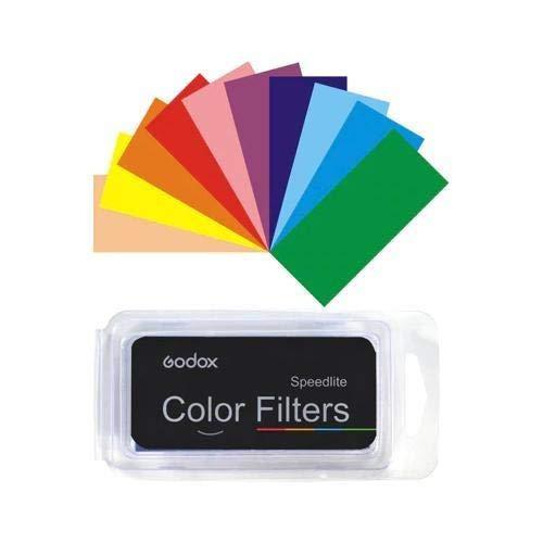 Godox Speedlite Kit de filtros para cámara de Fotos