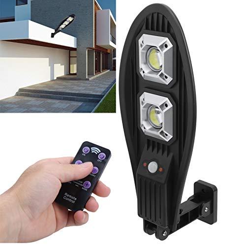 VINGVO Luz Solar, luz de Pared Solar automática Segura ABS, Control Remoto para Patios de Entrada