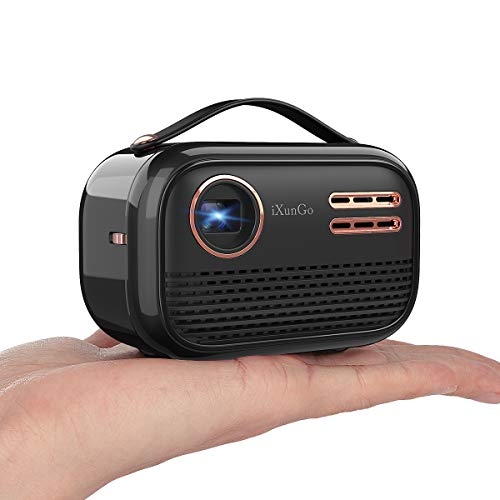 Why Choose YAKAR portable Wi Fi projector. Wireless screen projector supporting 1080p and 150 ANSI l...