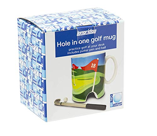 LONGRIDGE Golftasse und Mini-Putter, Weiß - 6