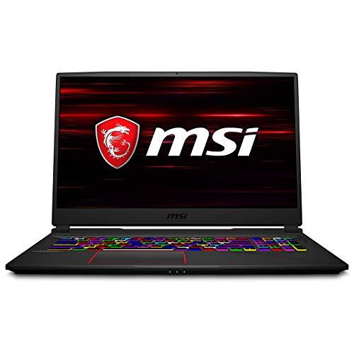 "MSI GE75 Raider 9SG-1083ES - Ordenador portátil de 15.6"" FHD 240Hz (Intel Core i9-9880H, 64 GB RAM, 2TB SSD, Nvidia RTX2080-8GB, Windows 10 Pro) negro - Teclado QWERTY Español"