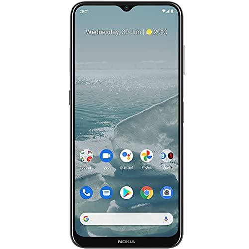 "(Renewed) Nokia G20 Smartphone, Dual SIM 4G, 4GB RAM/64GB Storage, 48MP Quad Camera with 6.5"" (16.51 cm) Screen | Silver"