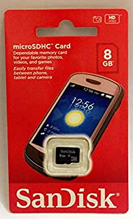 Toshiba 8 GB Memory Card For Multi - Micro SD High Capacity Cards - SDSDQM - 008G - B35