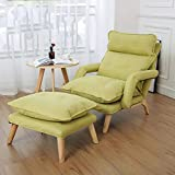 loknhg F3 Lazy Chair Sofa Armlehne Schlafzimmer Freizeit Seniorenpflege Japanische Krankenschwester Stuhl Liege Verstellbarer Stoff Sofa Stuhl Lazy High Back Chair