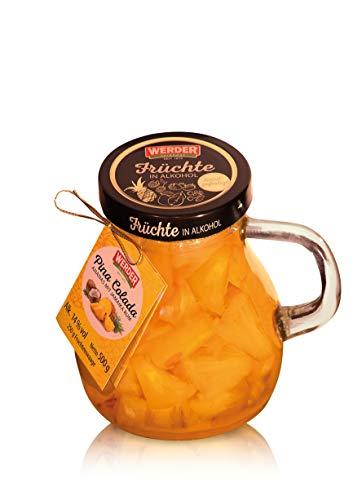 WERDER Pina Colada - Ananas mit Jamaika Rum Karaffe 500g - Alk. 14{ddd2ca835935e75b44f6bfaa2a8ca718da9f4dc9e2411971e1442afbf53598a7} vol