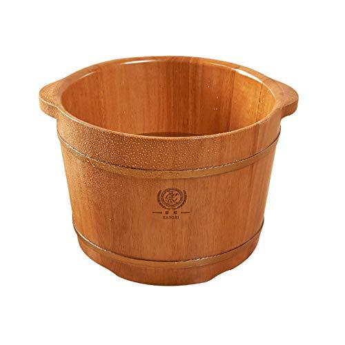 WEIFAN-Tub Foot wash tub Bain de Pieds Baril Bain de Pieds Bain de Pieds Baril Bain de Pieds Acupressure Baignoire de Massage Épaississement Bain de Pieds Baril Ménage/Hauteur 36Cm