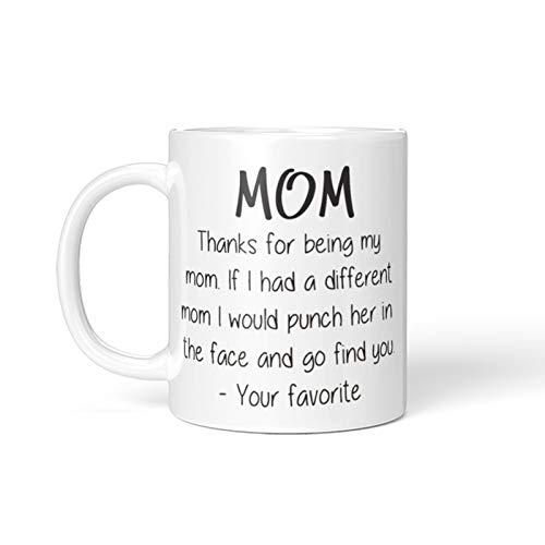 Taza de regalo de Pascua con un diseño interesante para el día de la madre, una interesante taza de café, con un patrón de espárragos, el mejor regalo para el día de la madre