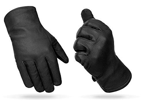 Black Snake noorsk Lederhandschuhe, aus Vollleder, gefüttert mit Fleece, BW/Bundeswehr Modell, schwarz Schwarz XXL