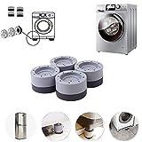 Stoß- und geräuschunterdrückende Waschmaschinen-Unterstützung, Waschmaschinen-Trockner, rutschfestes Gummi-Polster, für Wasch- und Trockentisch