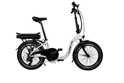 Blaupunkt Clara 400 | Falt-E-Bike, Tiefeinsteiger, Klapprad, StVZO, 20 Zoll, leicht, Faltrad, e-Bike, kompakt