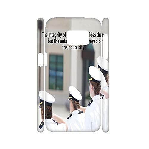 para Chico con Upright Caja De Teléfono Rígido Rígido De Plástico Compatible para Samsung S 8Plus