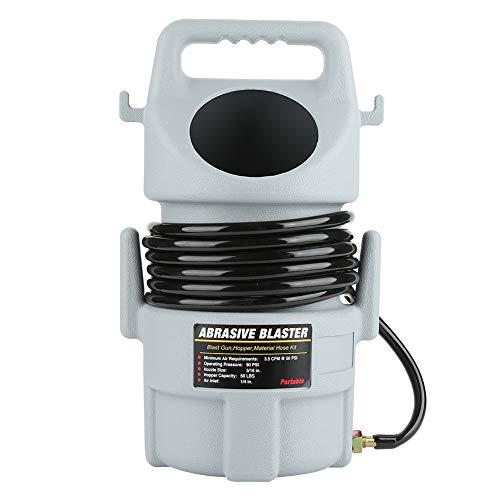 Sandblasting Gun, Portable Pneumatic Sand Blaster Kit Sandblasting Gun 15...
