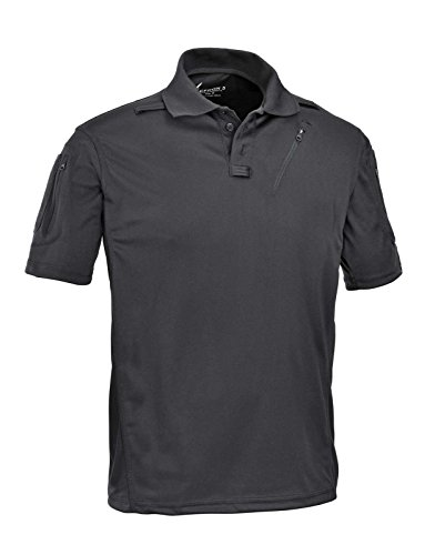 Defcon 5 Advanced Tactical Polo Short Sleeves with Pockets gemaakt van polyester Mesh