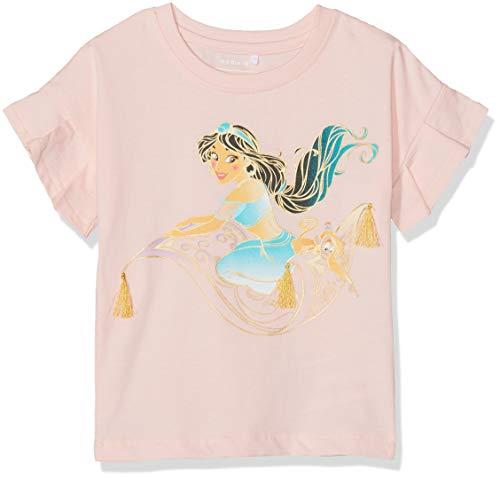 Name It Nmfaladdin Jasmin SS Top Wdi T-Shirt, Rose (Strawberry Cream Strawberry Cream), 86 Bébé Fille