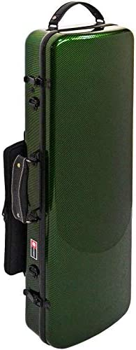 Crossrock Composite Carbon Fiber Light Weight Oblong Violin Hard shell Case 4 4 Full Size in product image