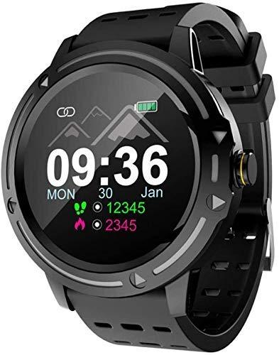 SYWJ Reloj Deportivo Multifuncional,Las Pulseras frecuencia cardíaca presión Arterial, oxígeno en Sangre oxígeno Pulsera Deportiva Reloj Impermeable Inteligente para iOS Android