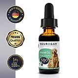 Neurogan´s Original für Hunde, Katzen und andere Haustiere / 500MG auf 30ml / einfache Einnahme - bei Unruhe, Angstattacken & Gelenkproblemen/Nahrungsergänzung