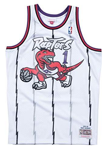 Toronto Raptors Tracy McGrady White Mitchell & Ness Swingman Jersey (X-Large)
