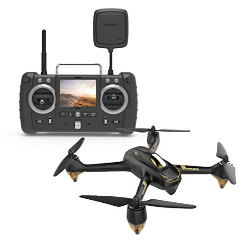 Hubsan H501S X4 Brushless Drohne GPS 1080P HD Kamera 5.8 Ghz FPV 2.4 Ghz RC Quadcopter Mit H906A Sender Schwarz Pro Version