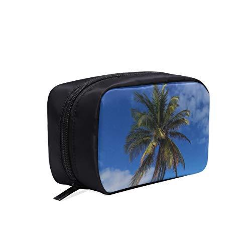 Travail Femme Sac Palm Tropical Beach Île Paradise Vacances Articles De Toilette Sacs Multi Voyage Sac Femme Sac À Outils Sac À Cosmétiques Multifonction Cas Maquillage Cadeau Sac