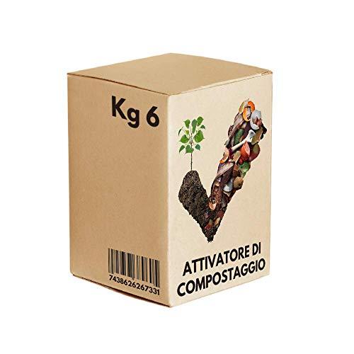 Attivatore Compostaggio 'Compost' Confezione Risparmio da 6 Kg