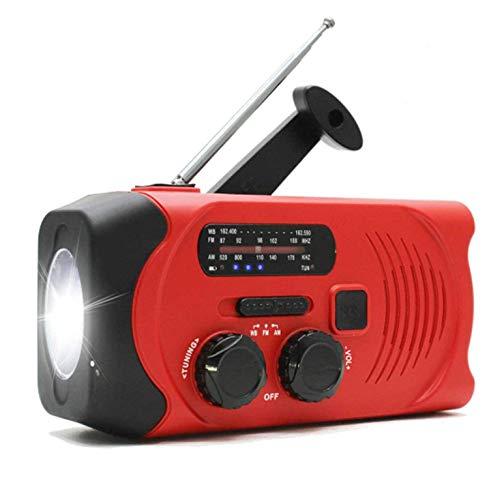 防災ラジオ 非常用 ラジオライト 手回し充電ラジオ 多機能 ソーラーラジオ 懐中電灯 AM/FM携帯ラジオ SOSアラート付き USB充電 携帯充電器 スマホ充電対応可能 大容量2000mAH付き 地震 震災 津波 台風 停電緊急対策