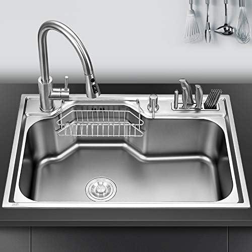 DJASM psglq Brand new Kitchen Sink Above B Sinks Washing Vegetable Chicago Mall Counter