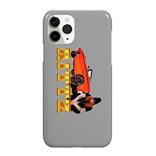 Rittz Golden Car_MRZ2584 - Funda protectora de plástico duro para teléfono móvil para Huawei P9 Lite