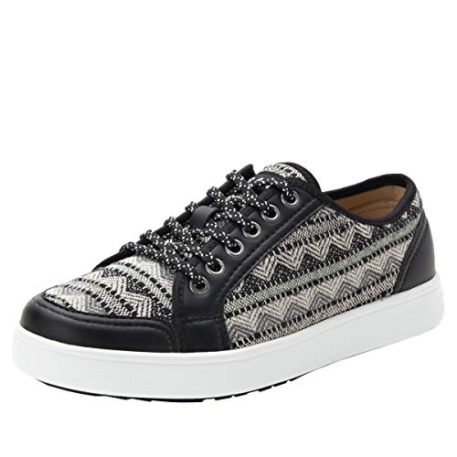 TRAQ by Alegria Women's Casual and Fashion Sneakers, Sari, 9