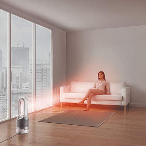 Dyson Pure Hot+Cool Link Purificateur d'air/Chauffage/Ventilateur de table blanc