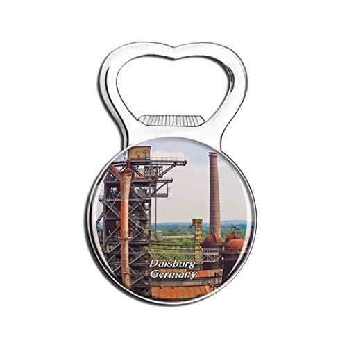 Weekino Duisburg Park Deutschland Bier Flaschenöffner Kühlschrank Magnet Metall Souvenir Reise Gift