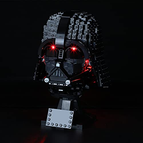 BRIKSMAX Kit de iluminación LED para Lego Star Wars Darth Vader - Compatible con Lego 75304 Building Blocks Model- No incluir el Conjunto de Lego