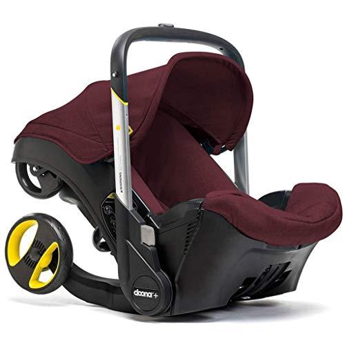 Doona Infant Car Seat & Latch Base - Cherry/Burgundy - US Version