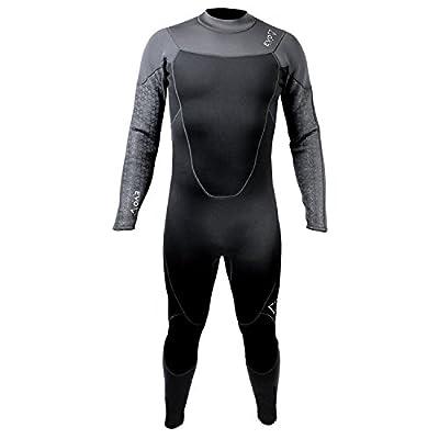 evo Elite Blaze 3mm Full Scuba Wetsuit (Men's) Large Black