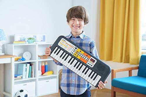 Yamaha PSS-F30, Tastiera Digitale per Bambini Portatile e Leggera, Con 37 Mini Tasti e Funzioni di Apprendimento, 1, Nero